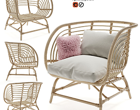 3D IKEA BUSKBO armchair