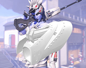 3D print model Overwatch Widowmaker Cosplay - Odette Odile
