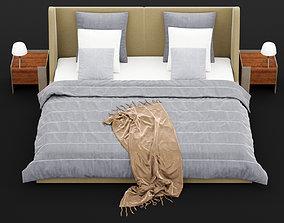 3D Modern bed 17