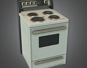 3D asset HVM - Stove - PBR Game Ready