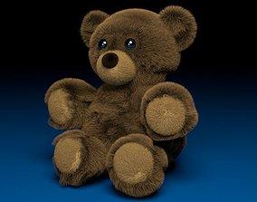 Brown Teddy Bear Ourson 3Dmodel