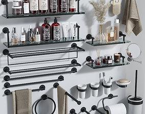 bathroom accessories 04 comb 3D model