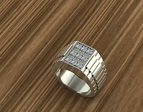 3D print model SILVER RING matrix
