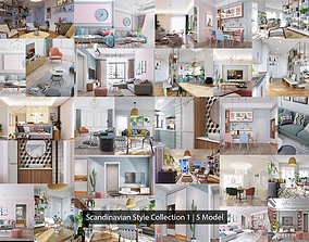 tree Scandinavian Style Collection 3D