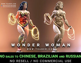 Wonder Woman Statue - 3D print Statue scifi