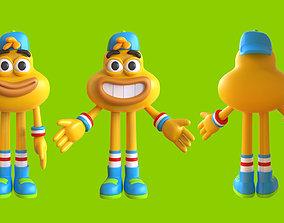 Mascot Character Cartoon 3D