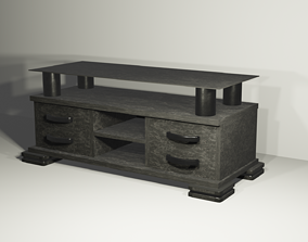 modern table mostly used for tv and living 3D
