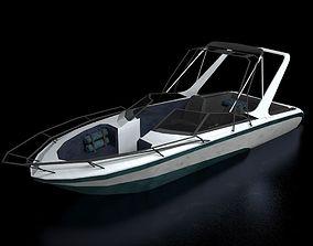 Boat 2 3D asset