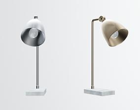 modern desk lamp 3D model realtime