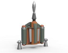 3D printable model Boba Fett Jetpack from Star Wars The 3