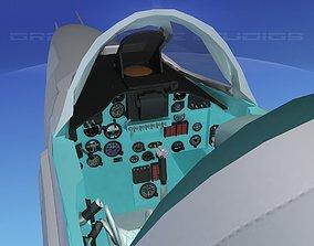 3D MIG-27 Flogger Bare Metal