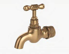 3D model Faucet brass