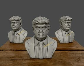 staue Donald Trump 3D printable 3D Sculpture