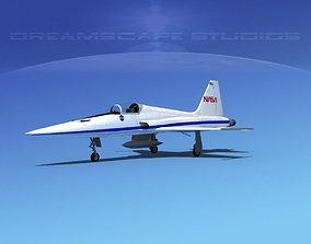 3D Northrop F-5E Tiger NASA