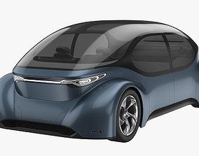 Self-Driving Car Concept 3D model