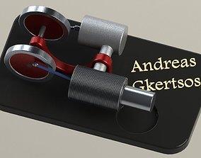Stirling Engine 3D