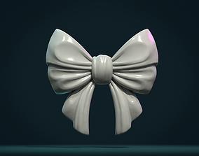 3D print model Bow Ribbon relief