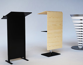 3D printable model Podiums