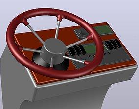 STEERING WHEEL D380 mm 3D printable model