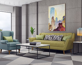 Living Room 101 Interior 3D