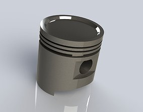 3D printable model Engine piston