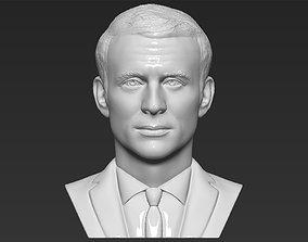 Emmanuel Macron bust 3D printing ready stl obj formats