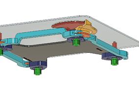 ADJUSTABLE BUILD PLATE FOR 3D PRINTER