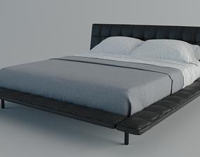 Poliform Onda Bed 3D asset
