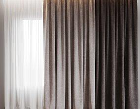 3D model curtain 4