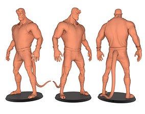 satan boy 3D printable model