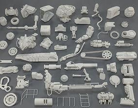 3D Kit bash - 57 pieces - collection-19