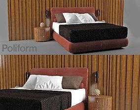 3D model Lace bed