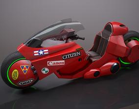 3D model VR / AR ready Motorcycle - Akira 1988 movie
