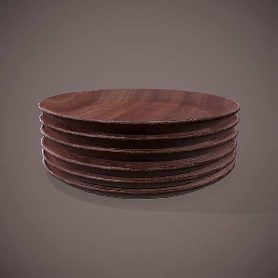 Plates Wooden