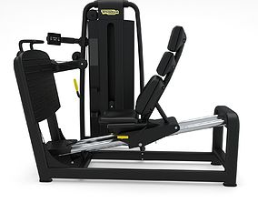 3D Technogym - Selectorised - Leg Press
