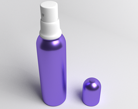 Bottle Thumb Sprayer 5 3D model