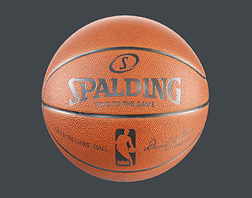 3D model PBR game Basketball Ball
