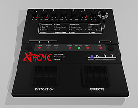 Guitar Effects Pedal Processor 3D