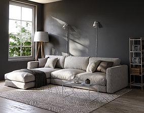 Sofa Set 06 3D