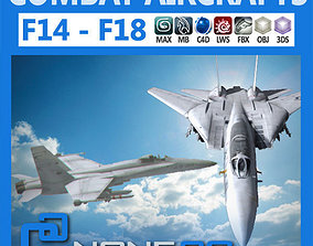 Pack - Combat Aircrafts 3D