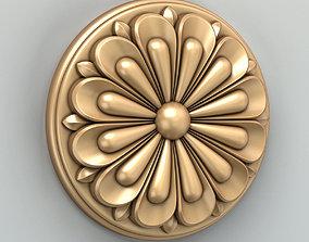 Round rosette 022 3D