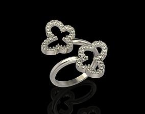 Ring butterflies 3D printable model