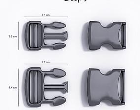 3D printable model Buckle clips