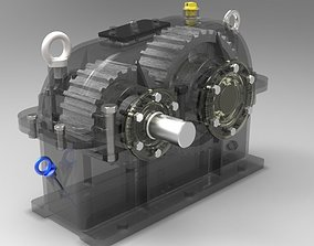 3D Reducer Full with all components