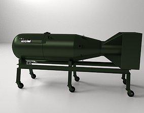 3D model Little Boy Atomic Bomb