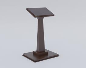 3D model Lectern - Wood