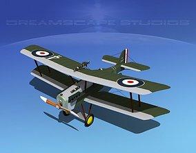 3D RAF SE-5A Fighter V15