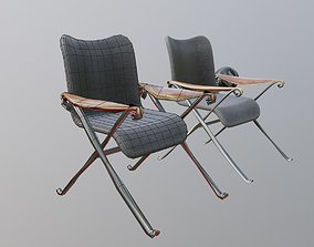 arm chair 3D model vray