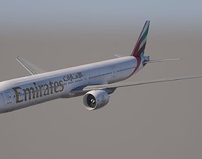 Boeing 777-300ER Emirates 3D model