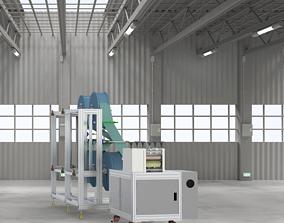 3D KN95 semi-automatic production machine